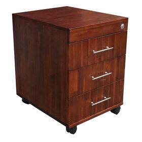 SFTCN009 - Tủ cá nhân gỗ tràm 3 ngăn kéo có khoá