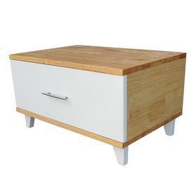 SFTDG019 - Tủ đầu giường 1 ngăn kéo gỗ cao su