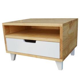 SFTDG018 - Tủ đầu giường 1 ngăn kéo gỗ cao su