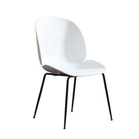 GBC018 - Ghế bàn cao Beetle lưng nhựa chân sắt cao cấp