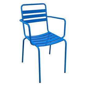 GCF009- Ghế sắt sơn tĩnh điện nhiều màu có tay