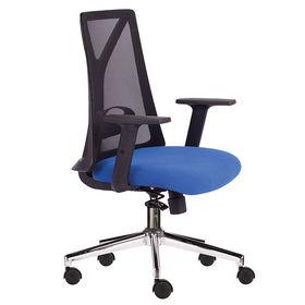 Ghế văn phòng chân xoay xanh dương M1087D-01