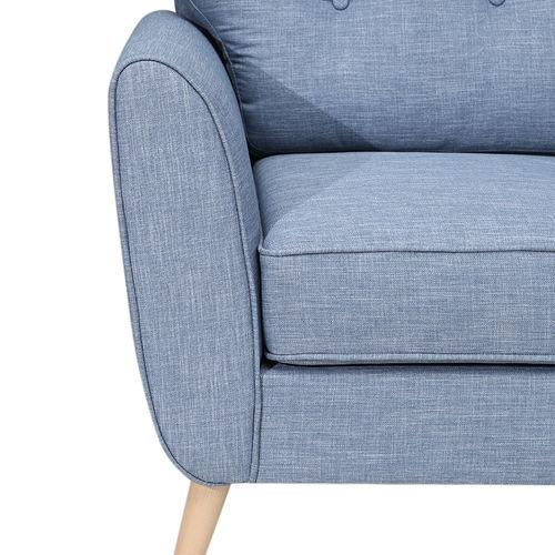 Sofa đơn nệm vải cao cấp