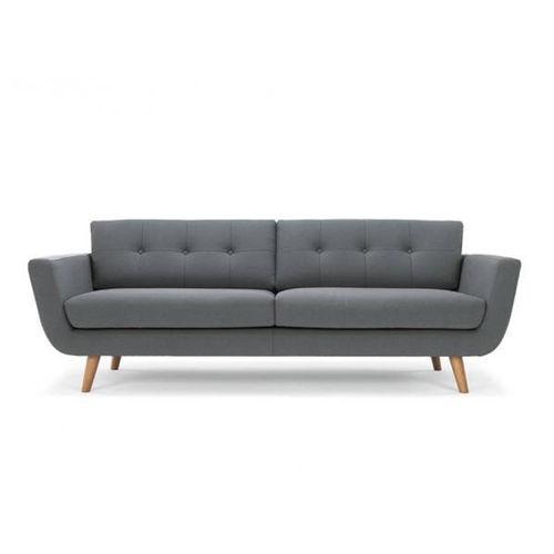 SF38002- Sofa băng đơn giản nệm vải cao cấp nâu đen