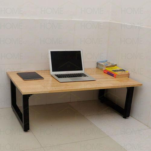 SFBB001- Bàn ngồi bệt chân gấp gỗ cao su (60x100x35cm)