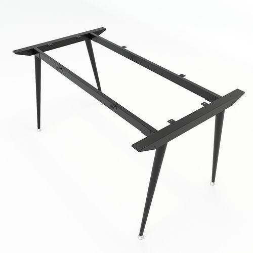 SFCN102 - Chân bàn giám đốc sắt ống Côn lắp ráp