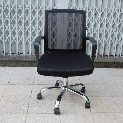 SFGLV010- Ghế văn phòng lưng lưới thấp tay liền chân xoay