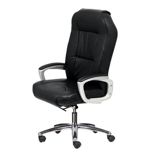 Ghế xoay trưởng phòng màu đen và 2 cần điều khiển HOM1034-01