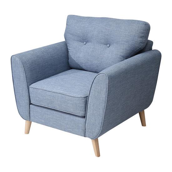 sofa đơn vải nệm