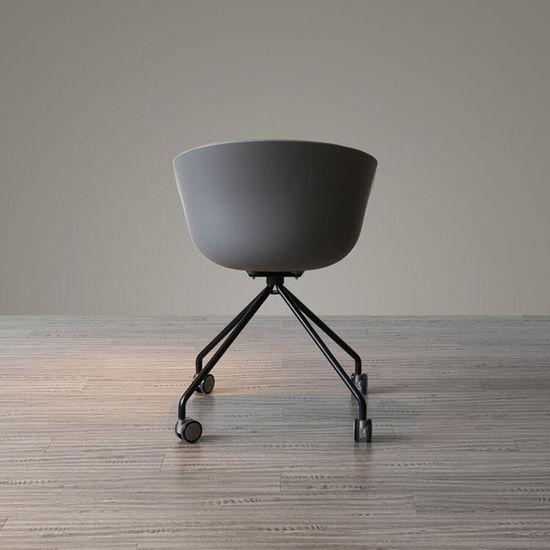 ghế bàn cao chân xoay lưng nhựa