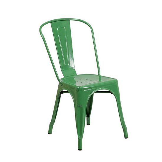 ghế tolix xanh lá